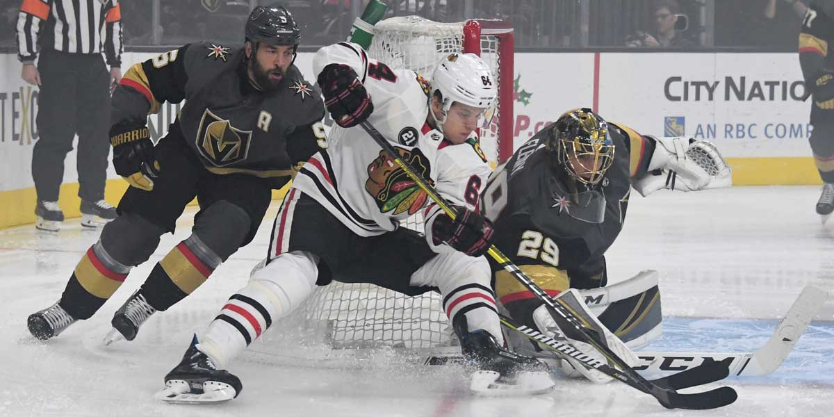 Blackhawks - Golden Knights