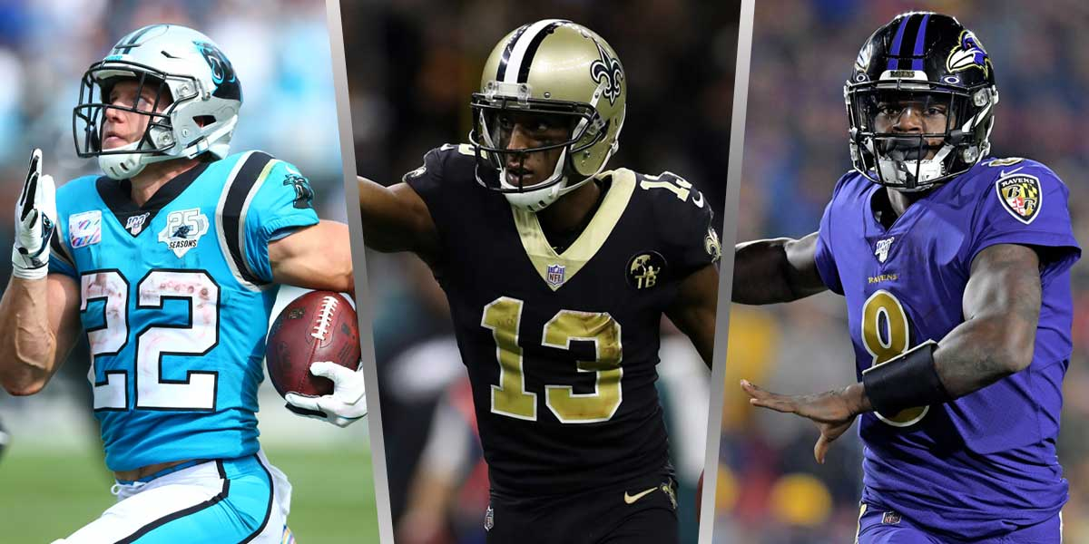 Christian McCaffery - Micheal Thomas - Lamar-Jackson