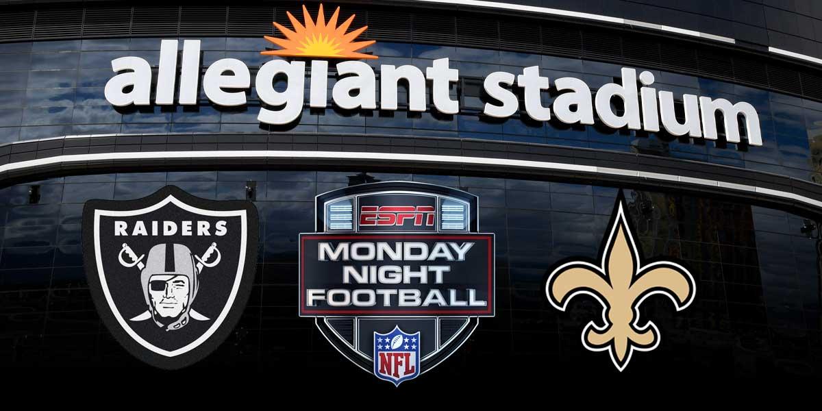 Monday Night Football - Saints vs. Raiders
