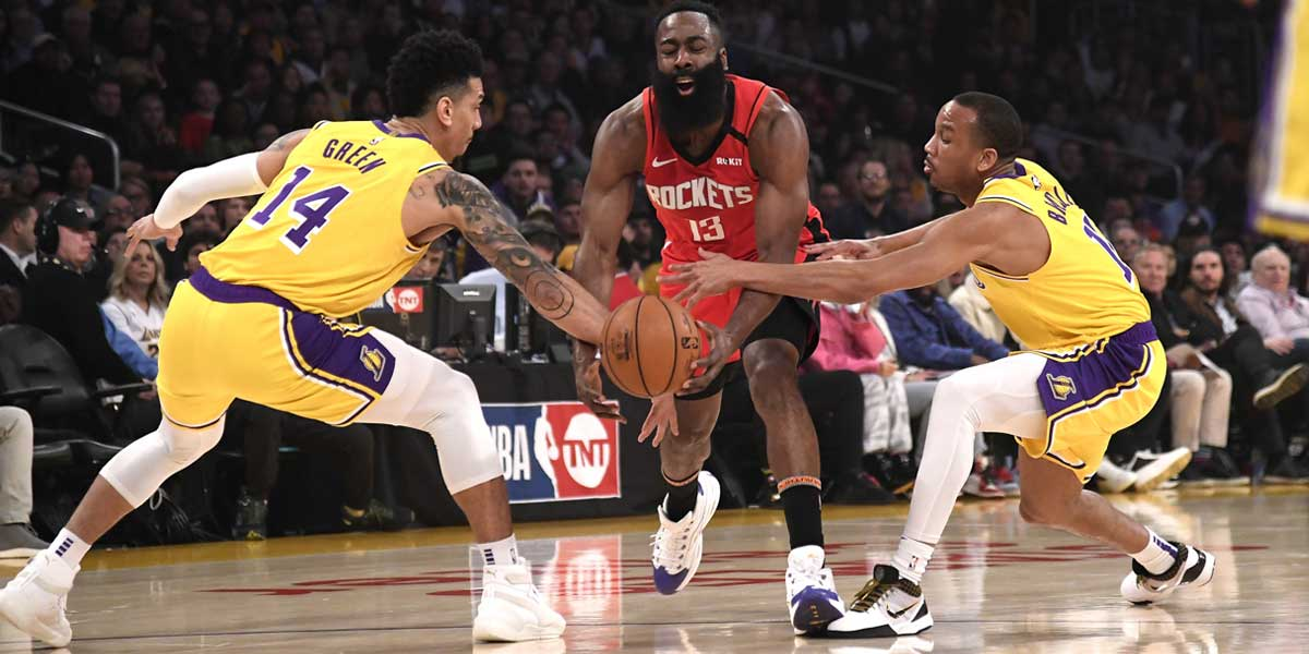 Lakers Favored To Take Game 2 vs. Rockets, Tie Series