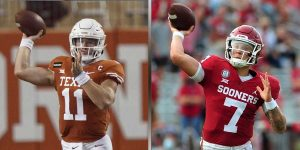 Sam Ehlinger - Spencer Rattler