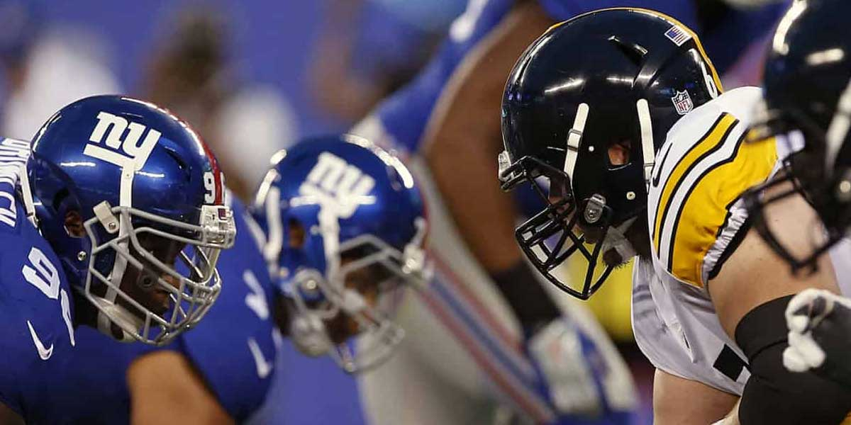 Steelers vs, Giants