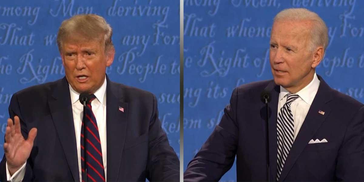 Donald Trump - Joe Biden