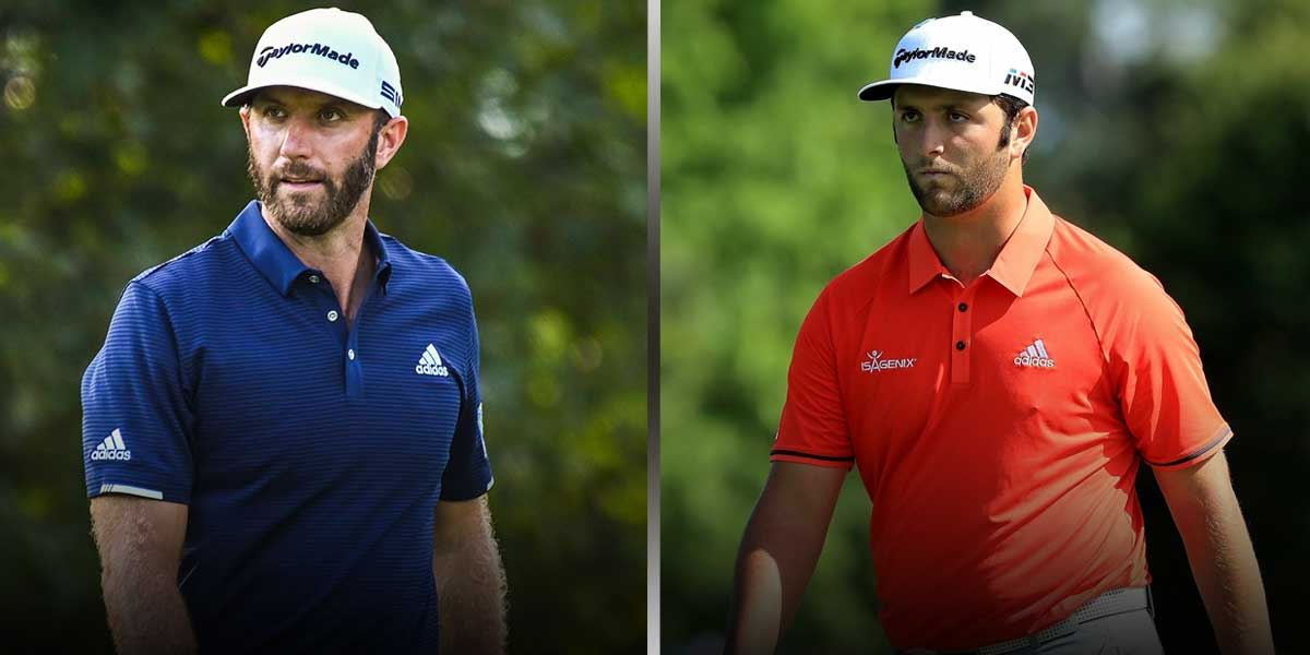 Dustin Johnson - Jon Rahm