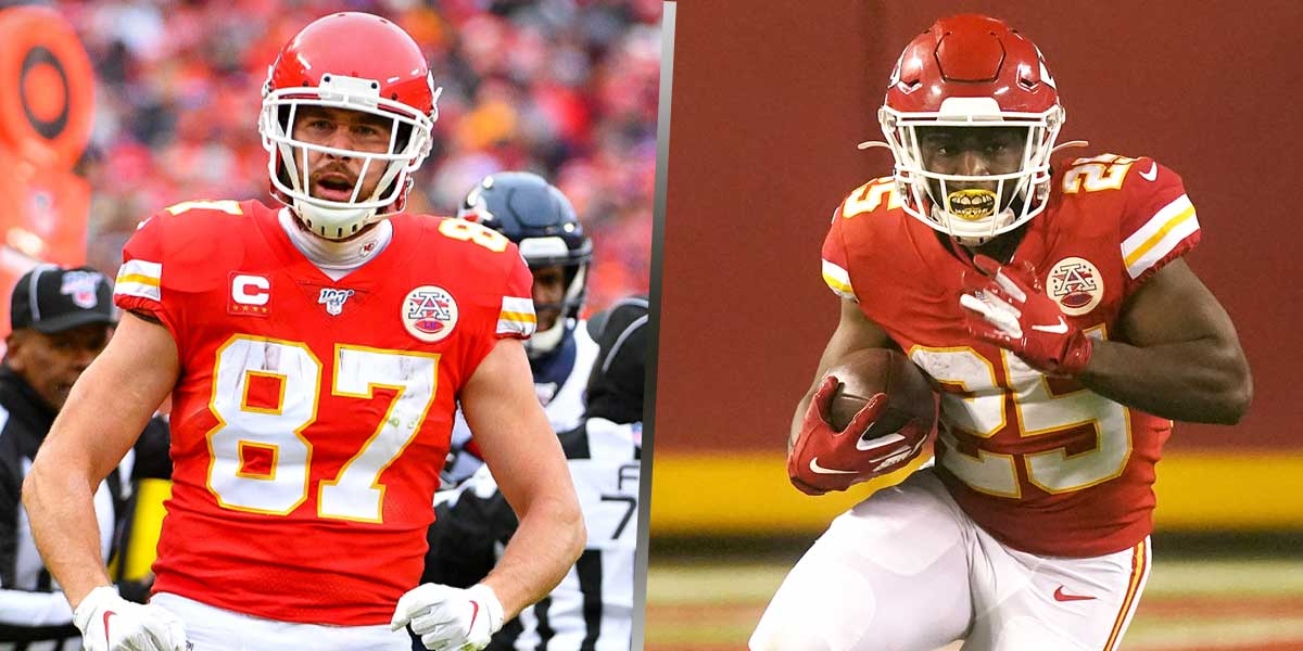 Travis Kelce - Clyde Edwards-Helaire