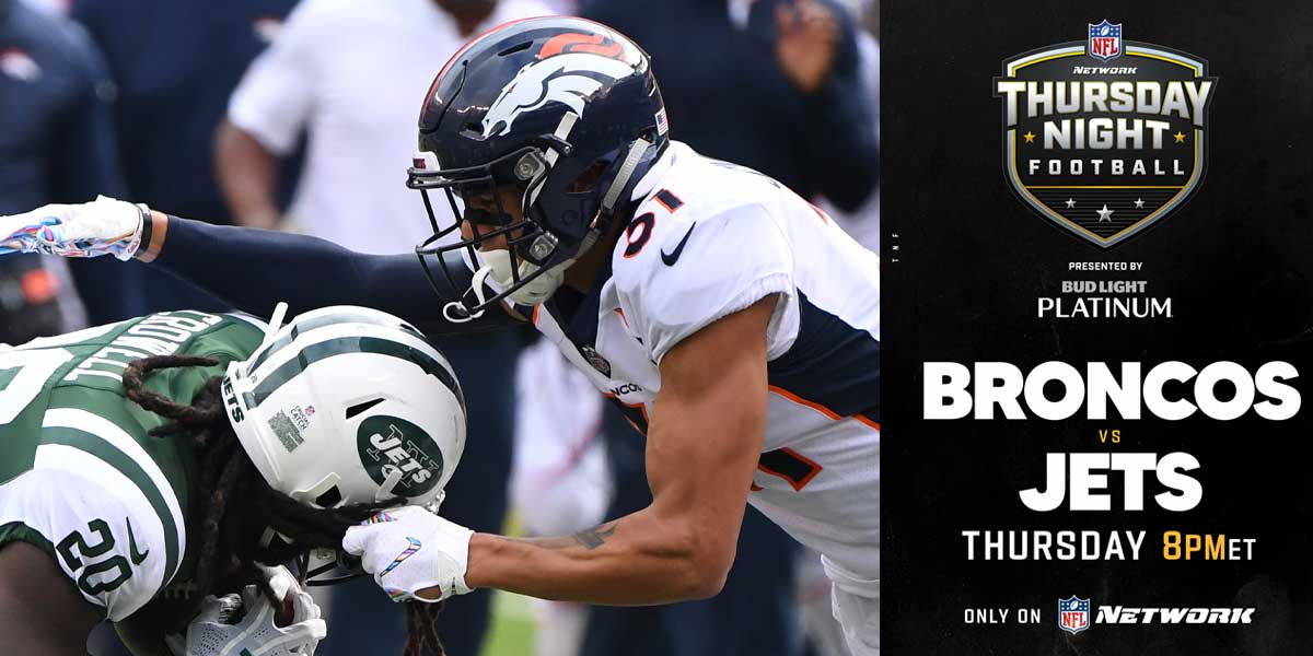 Broncos vs. Jets - Thursday Night Football
