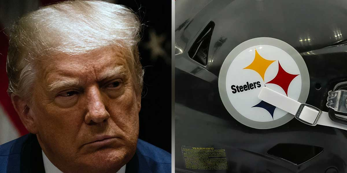 Donald Trump - Pittsburgh Steelers