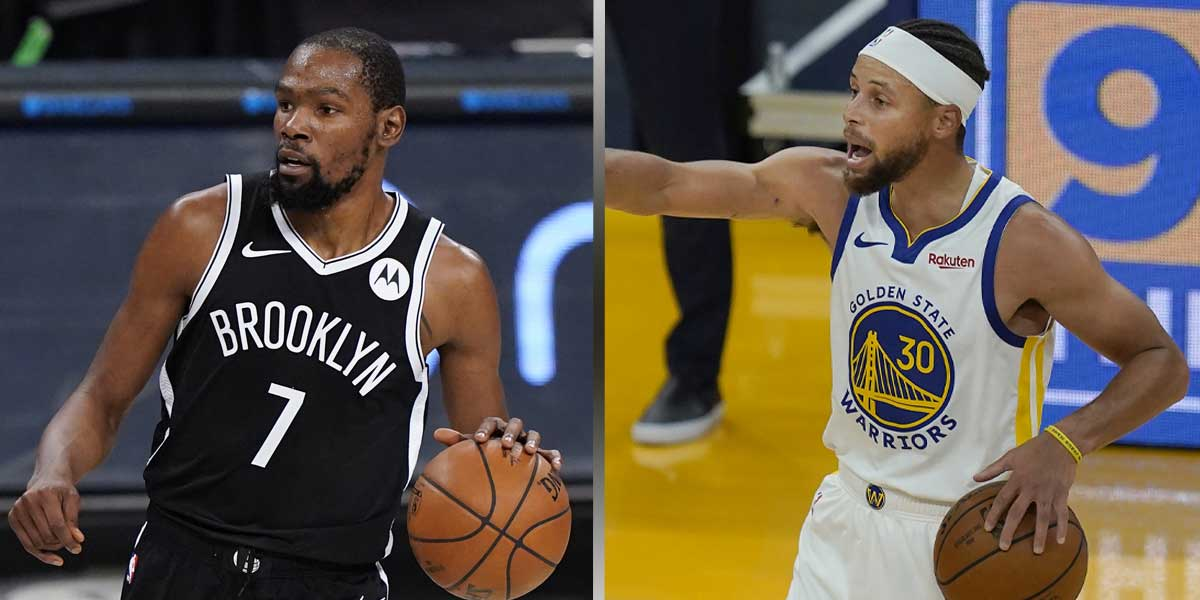 Kevin Durant - Steph Curry