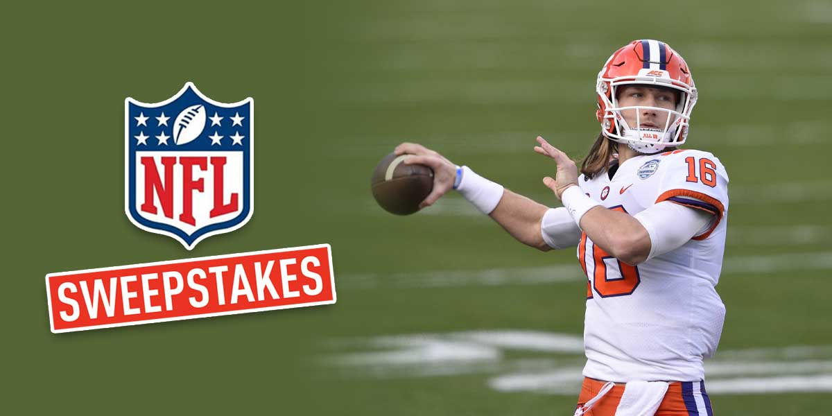 NFL Sweepstakes - Trevor Lawrence
