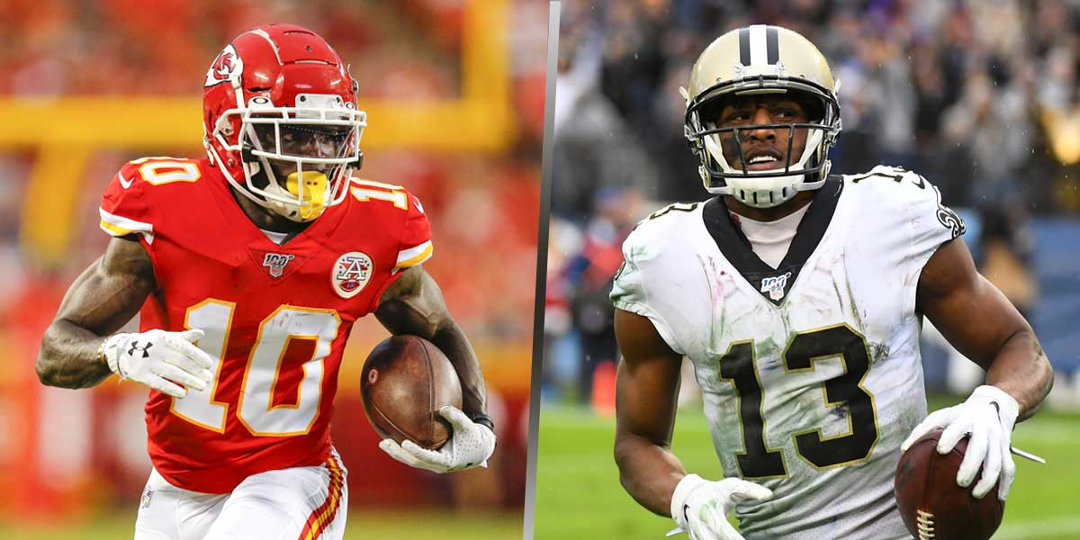 Tyreek Hill - Michael Thomas