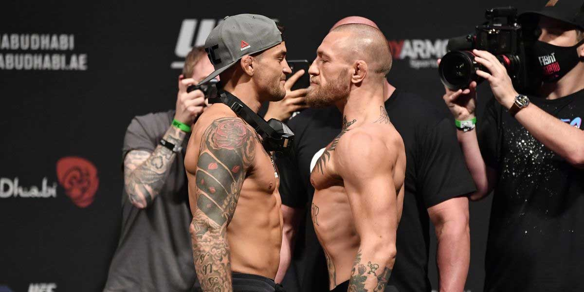 UFC 257 - Conor McGregor Vs. Dustin Poirier