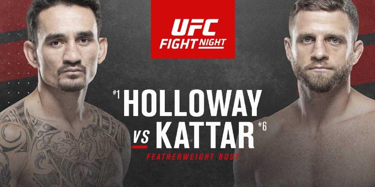 Max Holloway vs. Calvin Kattar