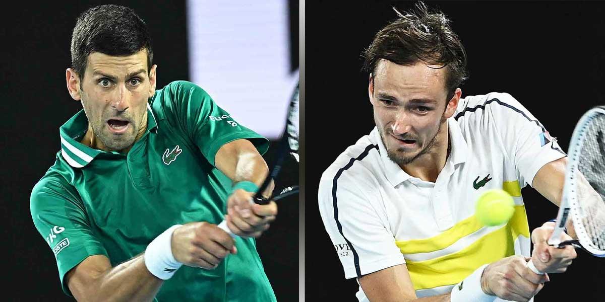 Djokovic Faces Medvedev