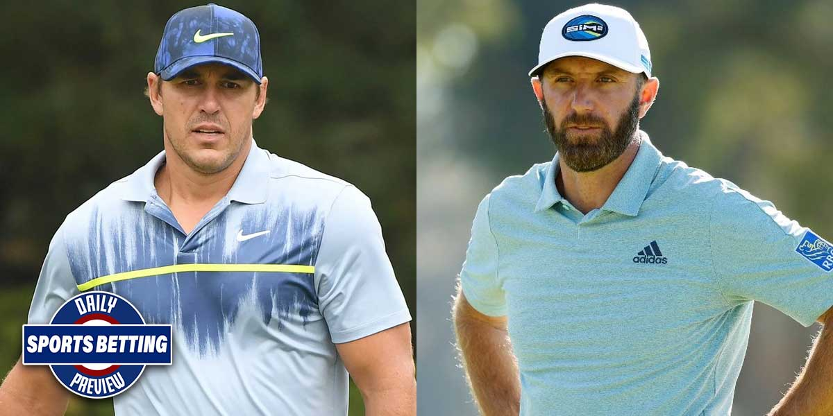 Brooks Koepka vs. Dustin Johnson