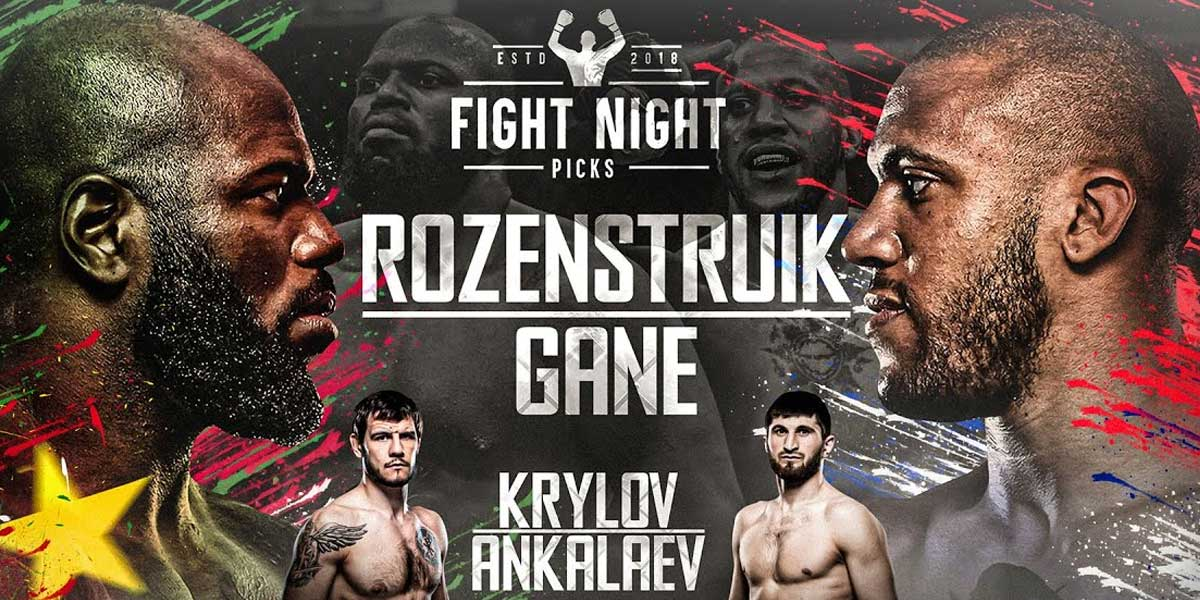 UFC Fight Night: Rozenstruik vs. Gane