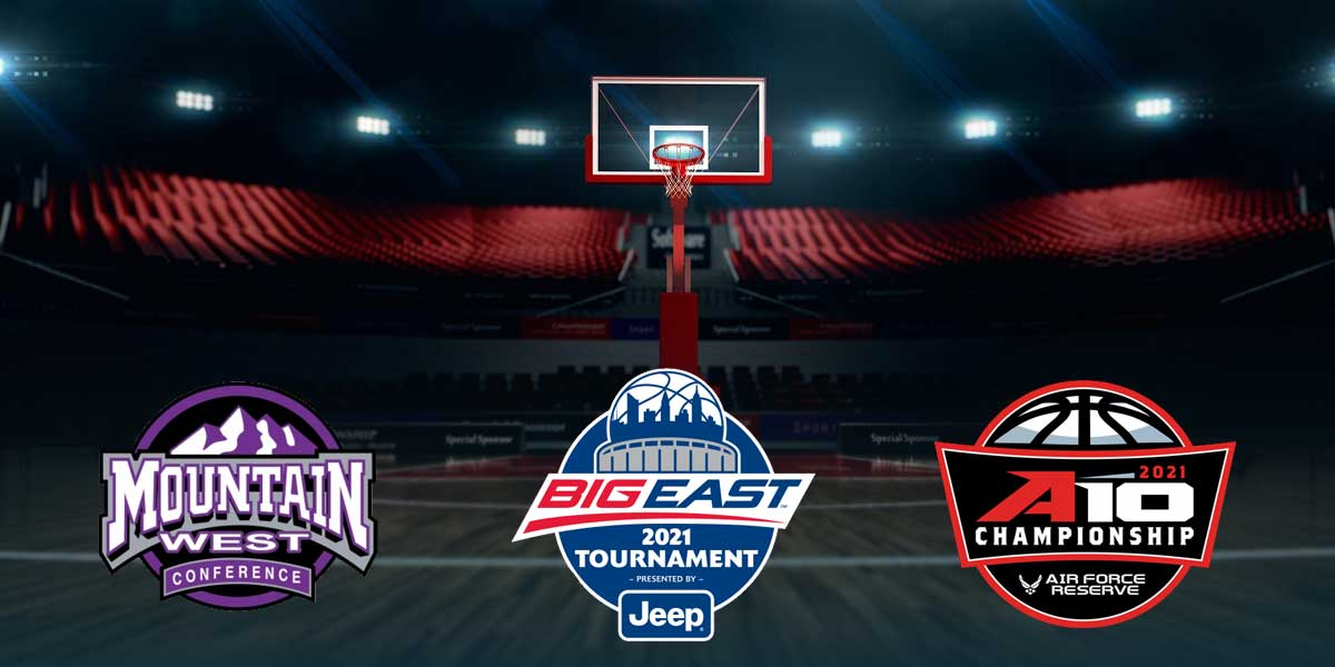 Mountain West, Big East, Atlantic 10 Conference Tournaments