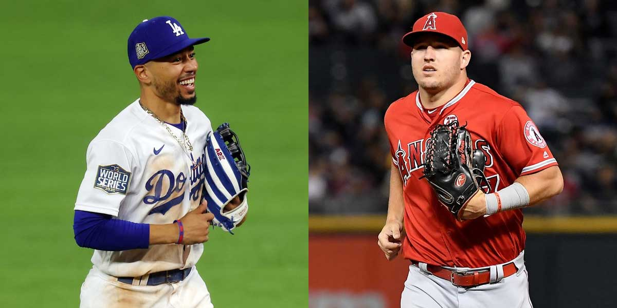 Mookie Betts - Mike Trout