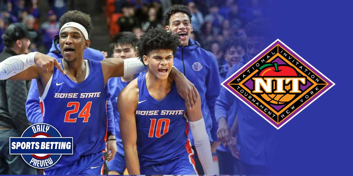 NIT Tournament - Boise State Broncos