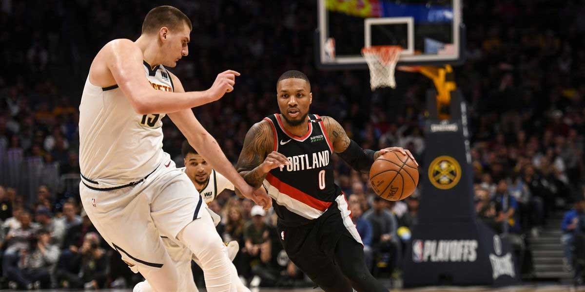 Denver Nuggets vs. Portland Blazers