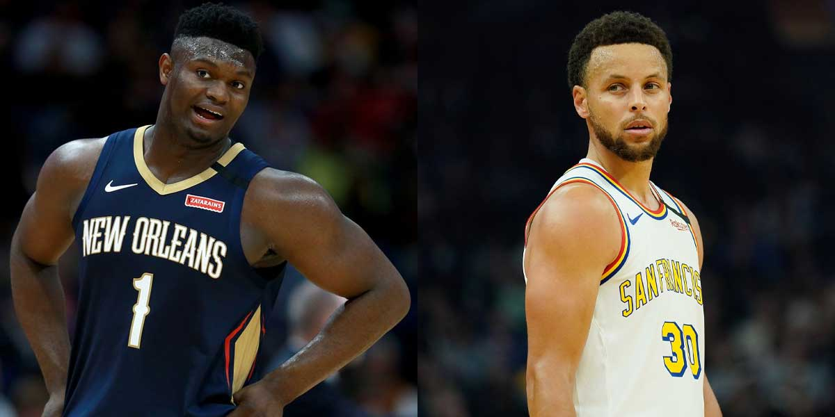Zion Williamson - Steph Curry
