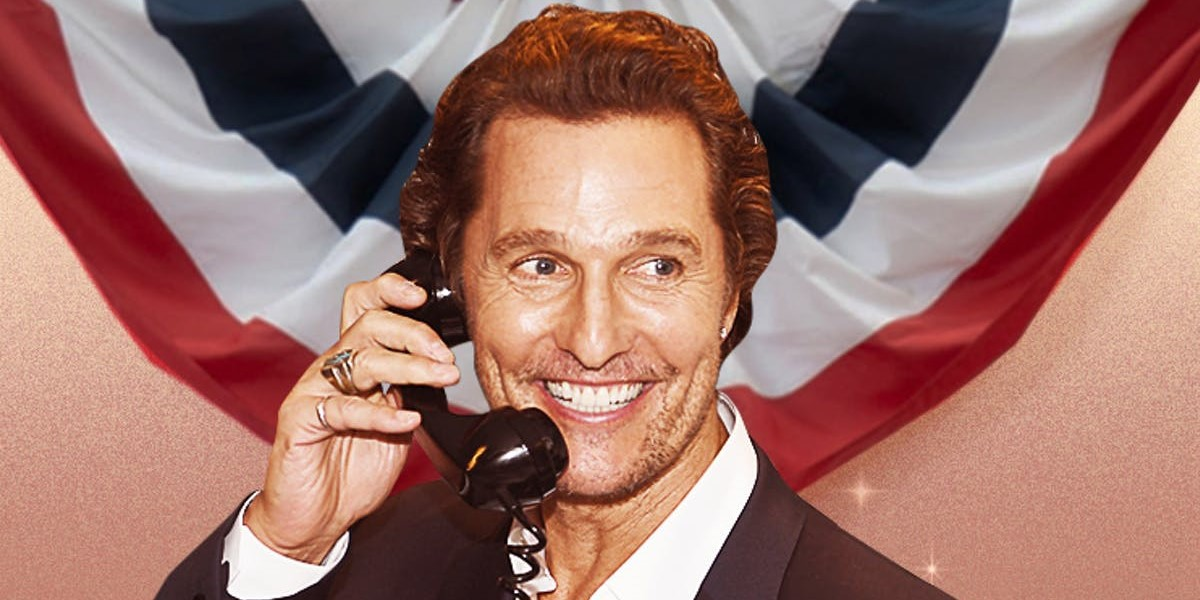 McConaughey For Texas Governor? Odds In Support