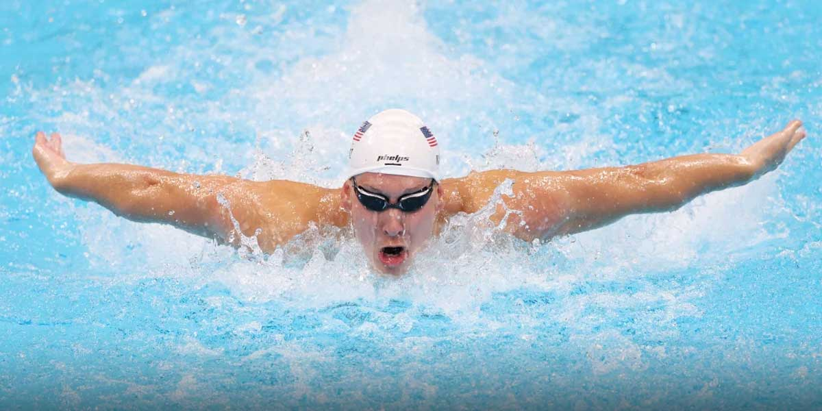 Men's Swimming Team USA