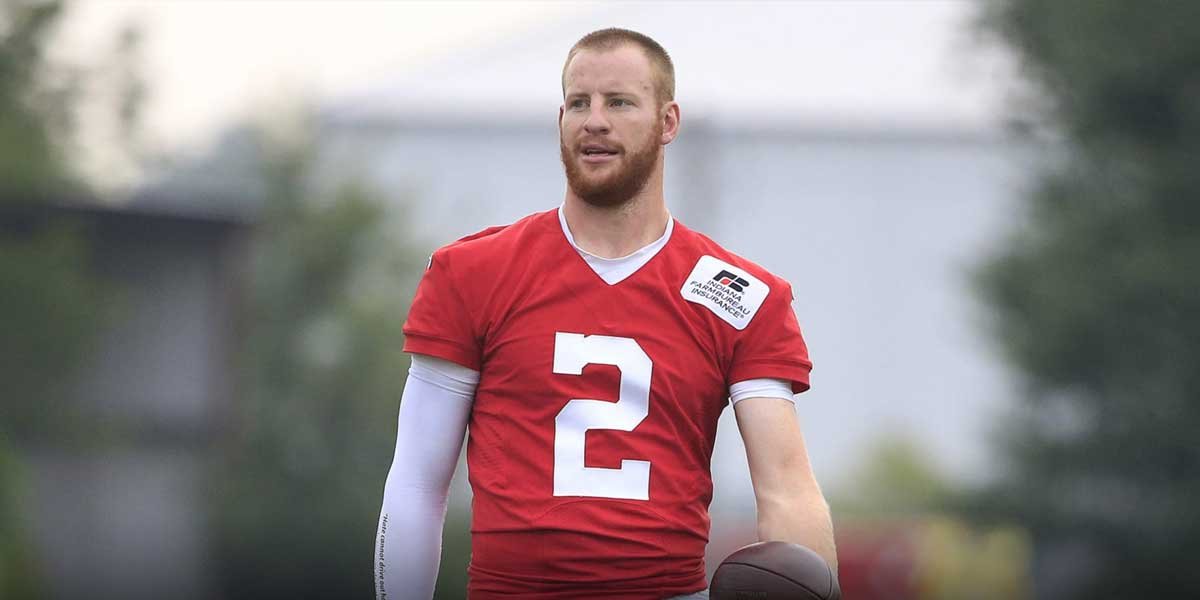Colts Odds Shift After Carson Wentz Goes Down
