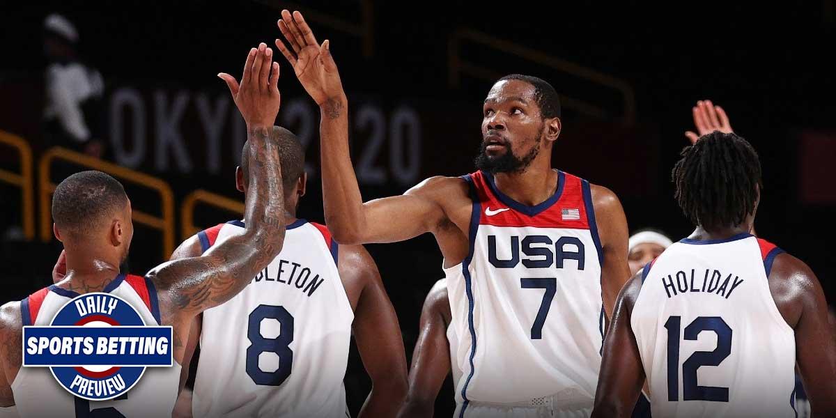 Daily Sports Betting Preview 08/02/2021 – Team USA Basketball, Orioles/Yankees, Simon Martirosyan Odds